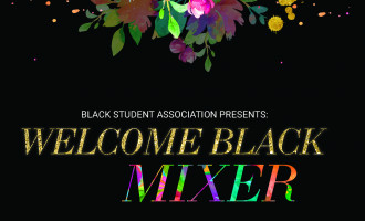 Welcome Black Mixer Flyer